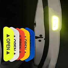 4Pcs Car Open Reflective Tape Warning Mark ... - Amazon.com