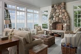 coastal beach style living room