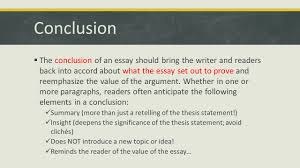 parts of an essay english agenda iuml sect introduction specifics hook conclusion iuml130sect the conclusion of an essay should bring the writer and readers back into accord