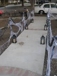 ideas outdoor halloween pinterest decorations: name halloween progress fence solutionjpg views  size  kb easy outdoor halloween decorhalloween front yard ideashalloween
