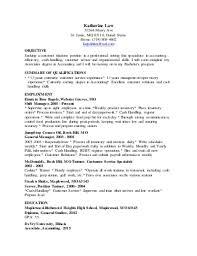 bank teller   linkedinkatherine law customer service bank teller resume