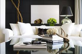 White Chairs For Living Room Black And White Living Room With Accent Color Luxury Furniture