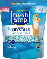 Fresh Step Crystals, Premium Cat Litter, Scented, 8 ... - Amazon.com