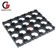 ABS Black 18650 <b>Battery</b> 4x5 Cell <b>Spacer</b> Radiating Shell Pack ...