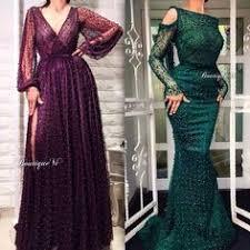 Flare <b>Sleeve</b> Evening Dresses <b>Long</b> Elegant <b>Mermaid</b> Hunter Green ...