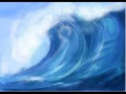 Image result for tsunami watercolor