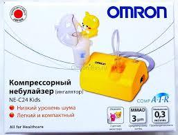 Небулайзер (<b>ингалятор</b>) для детей <b>Omron</b> CompAir <b>NE</b>-<b>C24 Kids</b> ...
