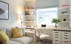 living room desks furniture: full size of  small space living room white office chair white high gloss study desk white high gloss computer desk stainless steel desk lamp white high gloss rack wall mounted white comfy cotton sofa yellow flowers pattern cushions