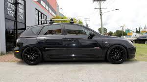 Black Mazda 3 Mazda Sp23 Custom Rims 18 Inch Koya Cr Tek Black Wheels Youtube