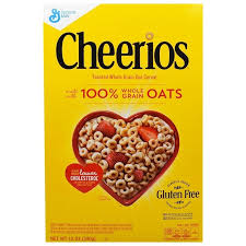 General Mills, Овсяные колечки <b>Cheerios</b>, <b>340 г</b> — купить в ...