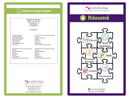 resume college resume booklet image
