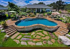 Small Picture Swimming Pool Landscape Designs completureco