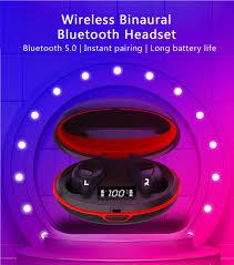 <b>Rollme T05 Tws</b> אלחוטי bluetooths 5.0 HiFi אוזניות סטריאו הדיבורית אוזן ...