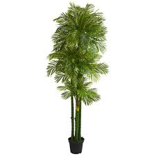 Nearly Natural Indoor 7.5 ft. <b>Phoenix Artificial Palm Tree</b>-5585 - The ...