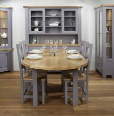 extendable dining table set: provocative room with wooden extendable dining table also chairs in brown and grey