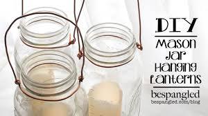 stylish make hanging lanterns mason jar lantern how to diy wedding craft make a hanging adore diy hanging mason jar