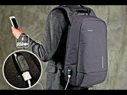 <b>Kingsons</b> USB Backapck АНТИВОР 15-дюймовый рюкзак для ...