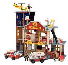 <b>KidKraft</b> Игровой набор <b>Пожарно</b>-<b>Спасательная станция</b> 63214 ...