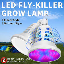 <b>CanLing E27 LED 220V</b> Plant Grow Lamp 110V Pest Control Light ...