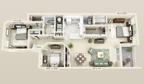 Bedroom Home Plans Designs  cool   bedroom  d plans