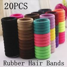 Girls Hair Bands 20pcs/lot Candy Fluorescence Colored ... - Vova