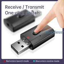 Cou^<b>T7</b>-<b>5 Bluetooth</b> 5.0 HiFi Audio Receiver Transmitter USB 3.5 ...