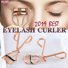 1pc <b>Women Rose</b> Gold <b>Eyelashes</b> Curler Supplementer Clip ...