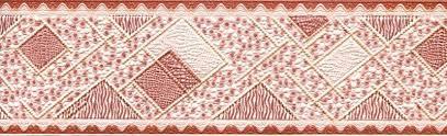 <b>Бордюр бумажный</b>,дуплекс,шир.6,8см,длина 10м Арт. <b>119-01</b> ...