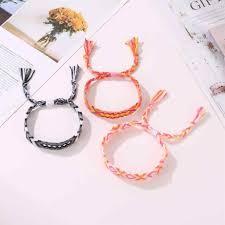 New Hot <b>Bohemian Thread Bracelet Retro</b> Handmade Boho ...