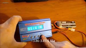 Первая зарядка <b>аккумулятора</b> HRB 3 S <b>lipo 11.1 В</b> 2200 мАч 30C ...