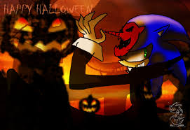 نتیجه تصویری برای sonic halloween