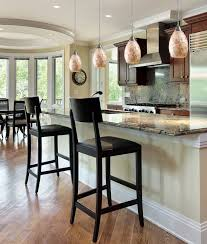 kitchen lighting kitchen islands lighting ideas and wooden counter height stools in black paint finishes above black kitchen island lighting