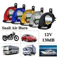 12V Electric Siren Snail Loud Air Horns 130dB Car Truck ... - Vova