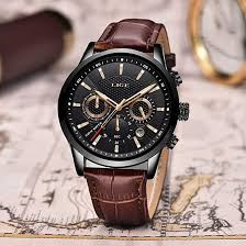 LIGE Watch <b>Men's Fashion Waterproof</b> Sports Chronograph ...