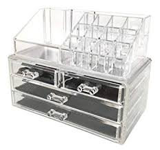 Sodynee Acrylic Makeup Organizer Cosmetic ... - Amazon.com