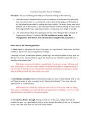 Argumentative Templates Sample Argumentative Introduction