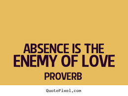 Image result for absence quotes