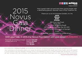 support achieve at the novus foundation fundraising achieve novus dinner invitation emailable