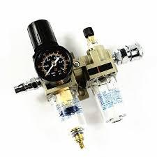 Air Source Treatment Unit Air <b>Pressure</b> Regulators <b>Oil</b>-Water ...