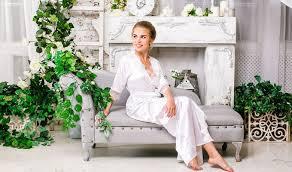 Свадебные халаты для невесты — белый <b>кружевной халатик</b> ...