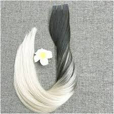 <b>Full</b> Head Blonde <b>Ombre</b> Tape in Balayage Hair Extensions <b>Full</b> ...