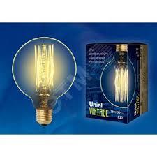 <b>Лампа</b> накаливания декоративная ДШ <b>60</b> вт 300 Лм <b>E27</b> Vintage ...