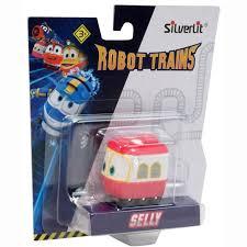 Купить паровозик <b>Silverlit Robot Trains</b> Паровозик Сэлли в ...