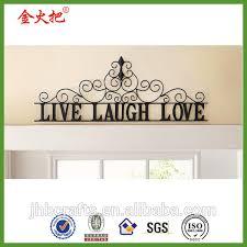 iron wall decor u love: do what you love metal wall decor phrase