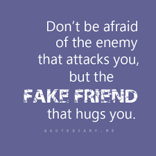 Fake friend.. | We Heart It | quote and friends via Relatably.com