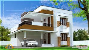 Kerala Model home plans presents  contemporary  model  home  plans     Kerala Model home plans presents  contemporary  model  home  plans featured   large windows and living room  Simple but luxurious looking home