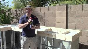 Countertop For Outdoor Kitchen Outdoor Kitchen Tv Show 4 Youtube