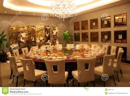 Round Function Tables Round Banquet Table Stock Photography Image 6985142