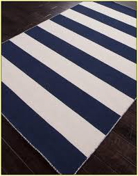 dark navy blue bath rugs: navy blue and white striped rug
