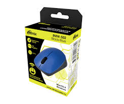 Мышка Беспроводная USB оптическая <b>RITMIX RMW</b>-<b>502 BLUE</b> ...